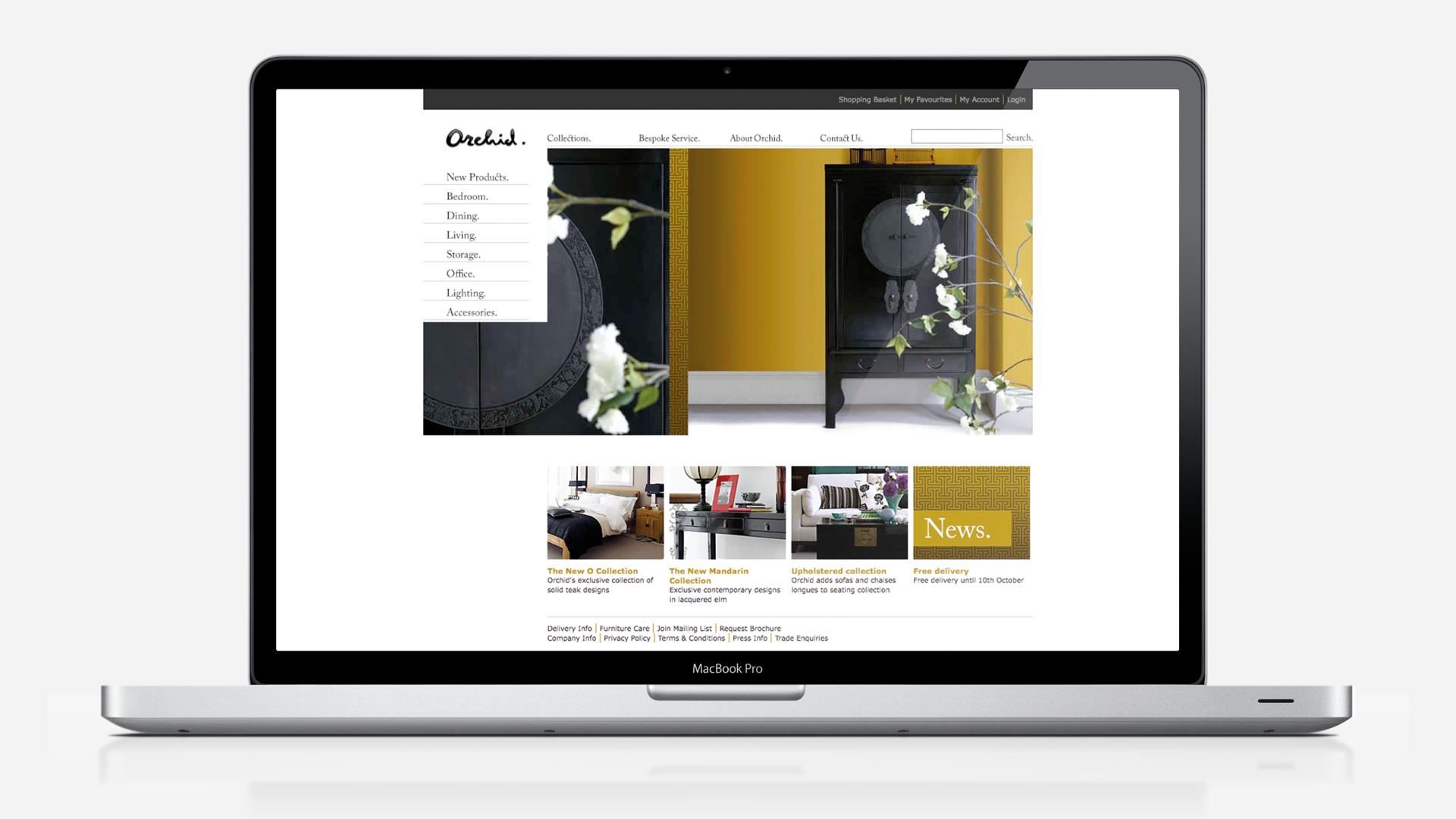 Luxury Furniture Website Design